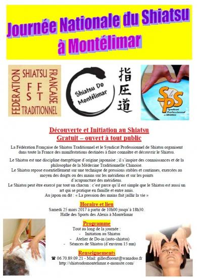 Plaquette journee nationale du shiatsu 2