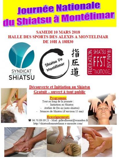 Plaquette journee nationale du shiatsu samedi 10 mars 2018